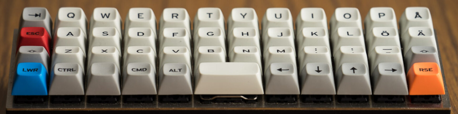 The Endgame Keyboard